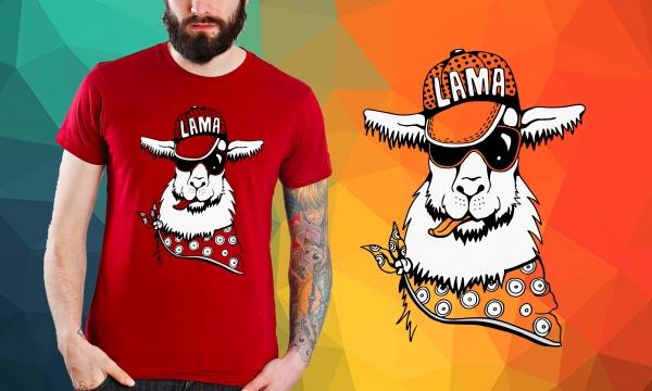 Detail návrhu Nebuď lama :P