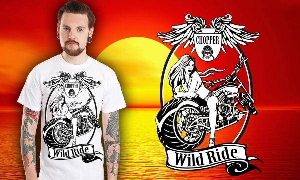 Detail návrhu Wild Ride