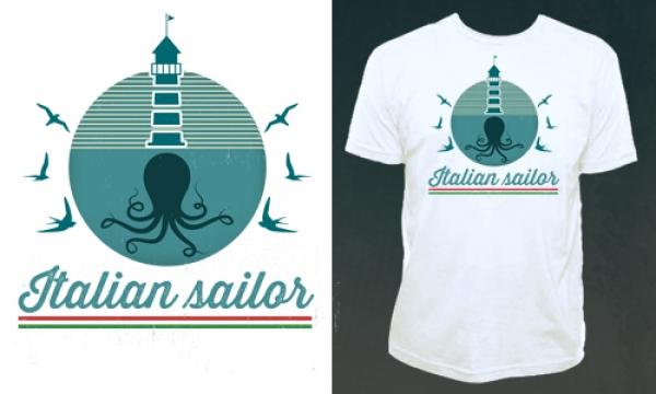 Detail návrhu Italian Sailor
