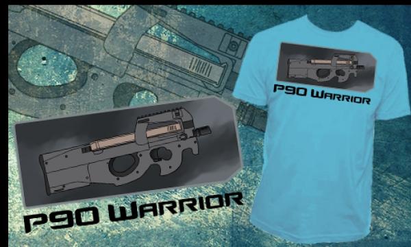 Detail návrhu P90 Warrior