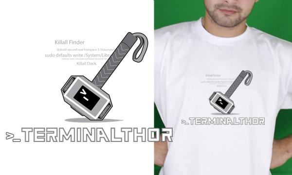 Detail návrhu TerminalThor