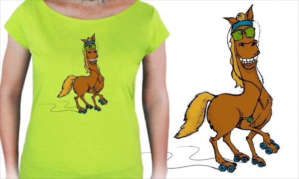 Detail návrhu Sportovní kůň