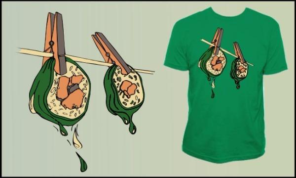 Detail návrhu Sušíme sushi