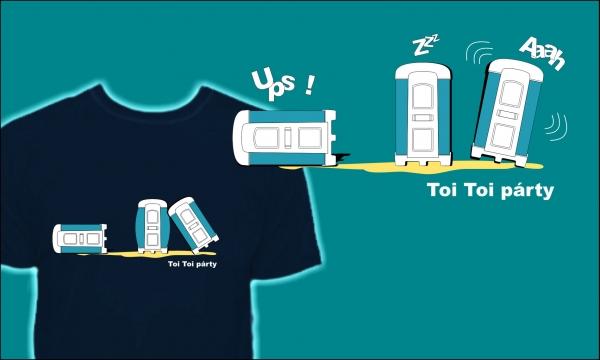 Detail návrhu Toi Toi party
