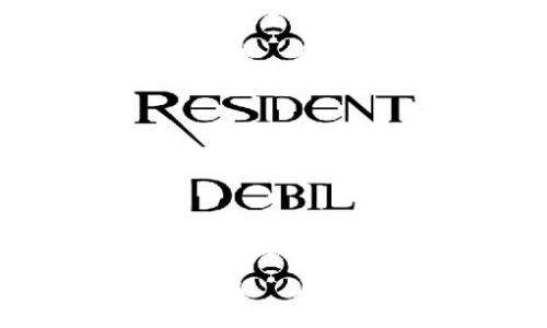 Detail návrhu Resident Debil