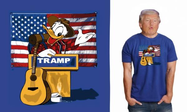Detail návrhu Donald Tramp