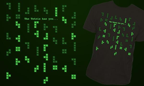 Detail návrhu The Tetris has you