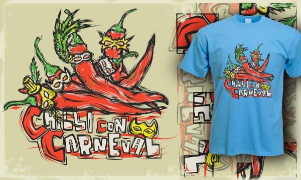 Detail návrhu Chilli con Carneval