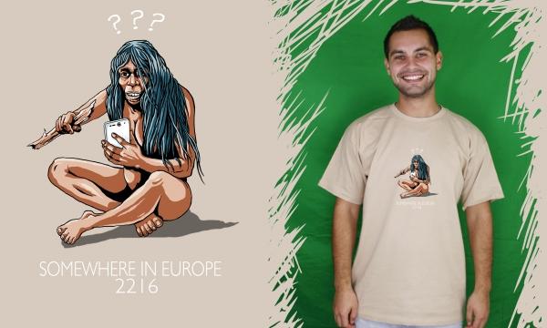 Detail návrhu somewhere in Europe