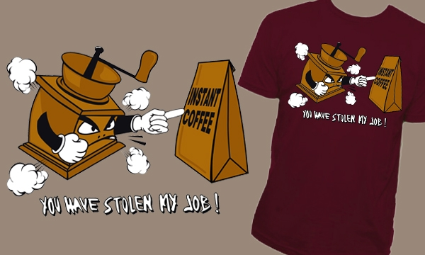 Detail návrhu Coffee Wars