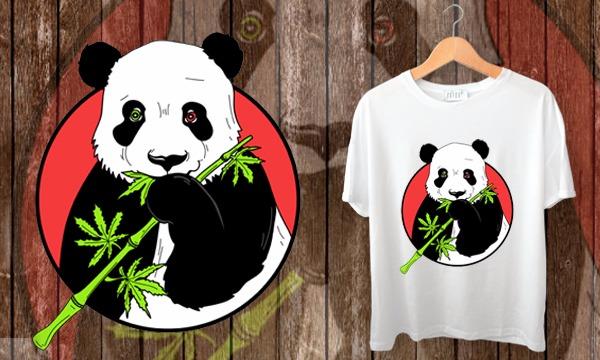 Detail návrhu Hladná panda