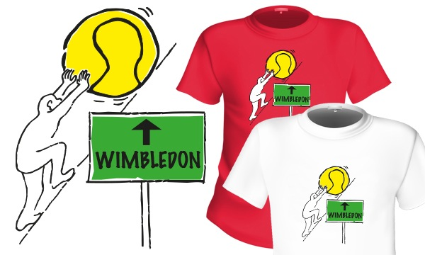 Detail návrhu Wimbledon