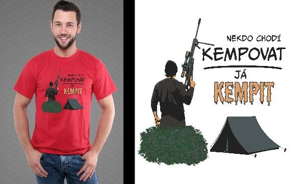 Detail návrhu Kempovat? Kempit!