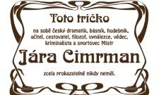 Tričko Járy Cimrmana