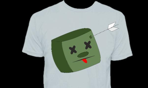 Detail návrhu zombie