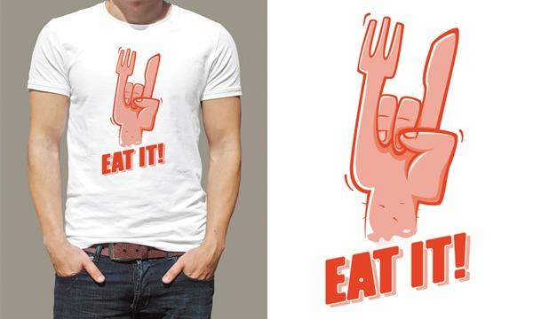 Detail návrhu Eat it!