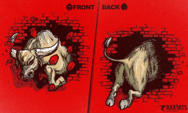 Detail návrhu Bull