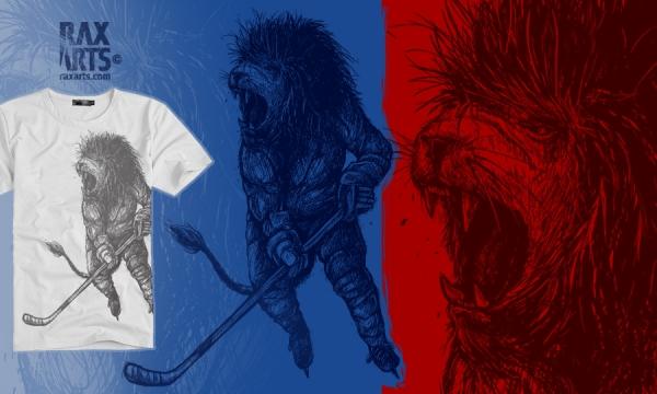 Detail návrhu Czech Lion