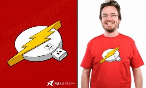Detail návrhu Flash Drive
