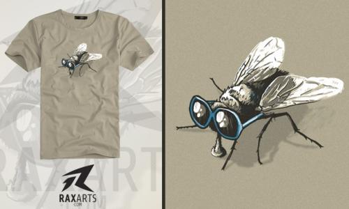 Detail návrhu Fly glasses