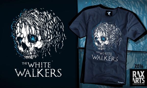 Detail návrhu GoT - White Walker
