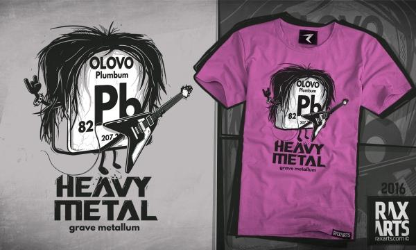 Detail návrhu Heavy Metal