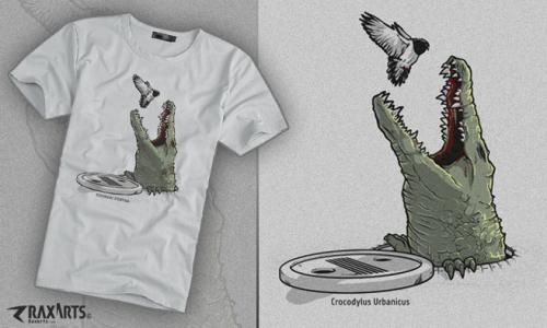 Detail návrhu krokodýl městský