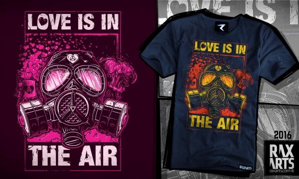 Detail návrhu Love is in the Air