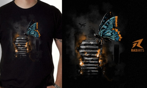Detail návrhu Motýlí efekt