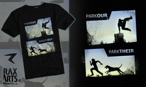 Detail návrhu Parkour/Parktheir