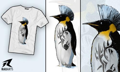 Detail návrhu Punkguin