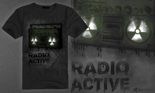 Detail návrhu Radio Active