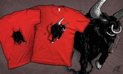 Detail návrhu Raging bull (Oprava)