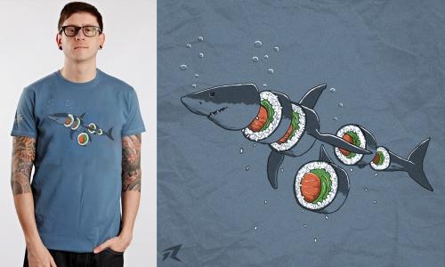 Detail návrhu Shark Sushi