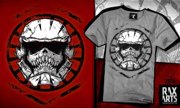 Detail návrhu SkullTrooper