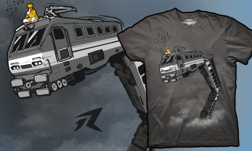 Detail návrhu Snake train