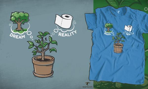 Detail návrhu Tree Dream