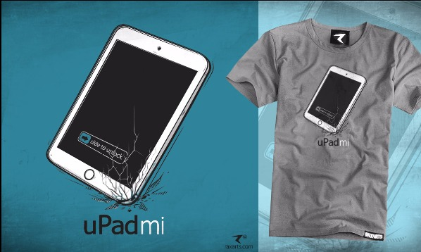 Detail návrhu uPad