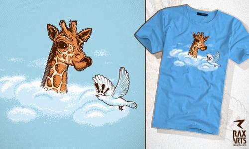 Detail návrhu Žirafa