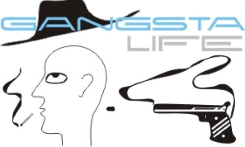 Detail návrhu Gangsta life