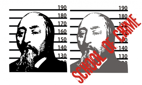 Detail návrhu School of Crime