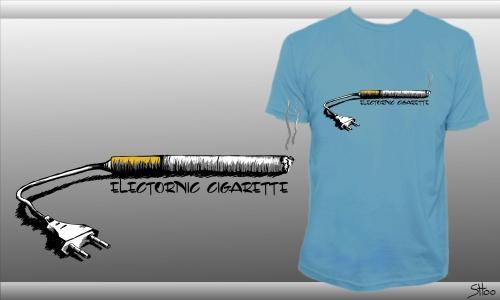 Detail návrhu ELECTRONIC CIGARETTE