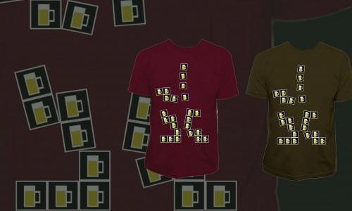 Detail návrhu Beer tetris