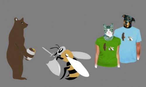 Detail návrhu medové překvapení