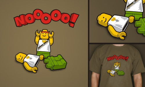 Detail návrhu LEGO emoce