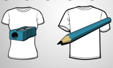 pencil & sharpener