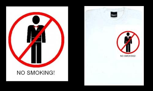 Detail návrhu no smoking!