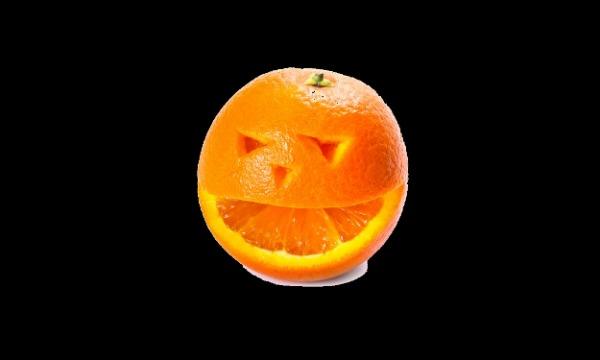 Detail návrhu pomeranč
