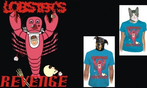 Detail návrhu Lobster's Revenge