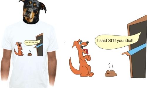 Detail návrhu Bad Dog